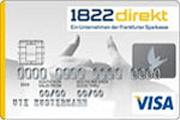 1822direkt Partnerkonto Visa Card