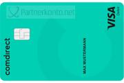 comdirect Partnerkonto VISA Kreditkarte