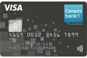 Consorsbank Partnerkonto Visa Card