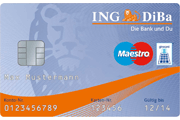 ING-DiBa Partnerkonto Maestro GiroCard