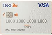 ING-DiBa Partnerkonto VISA Kreditkarte