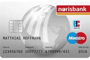 norisbank Partnerkonto Maestro GiroCard